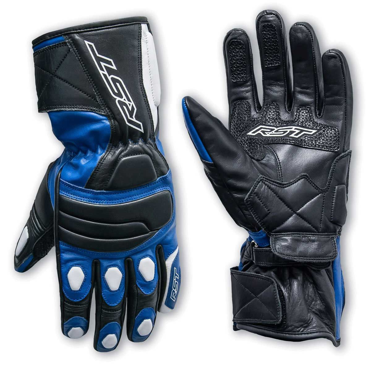 RST Urban II Motorcycle Gloves Blue