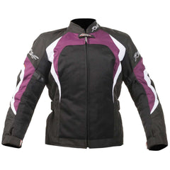 RST Ventilated Brooklyn Ladies Textile Motorcycle Jacket Berry
