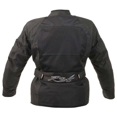 RST Ventilated Brooklyn Ladies Textile Motorcycle Jacket Black
