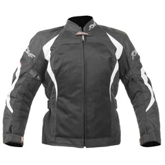 RST Ventilated Brooklyn Ladies Textile Motorcycle Jacket White