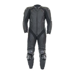 RST Black Series II Leather One Piece Suit Black