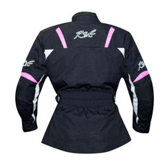 RST Gemma Ladies Textile Jacket Black / Pink