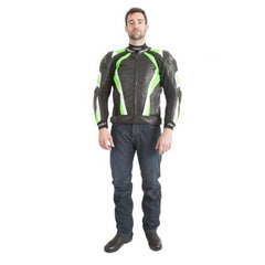 RST Pro Series CPXC Leather Jacket Green