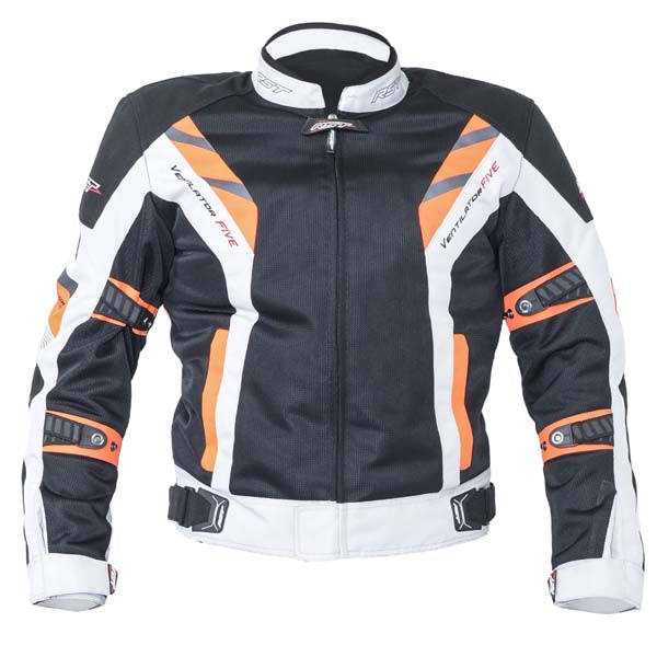 RST Pro Series Ventilator V Textile Motorcycle Jacket Fluo Red