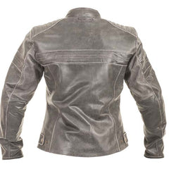 RST Roadster Ladies Leather Motorcycle Jacket Brown