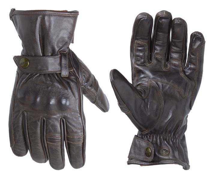 RST Roadster II CE Gloves Tobacco Brown