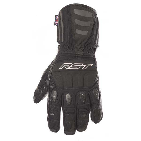 RST Storm WP Motorcycle Gloves Black