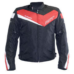 RST Striker Solid Textile Jacket Red