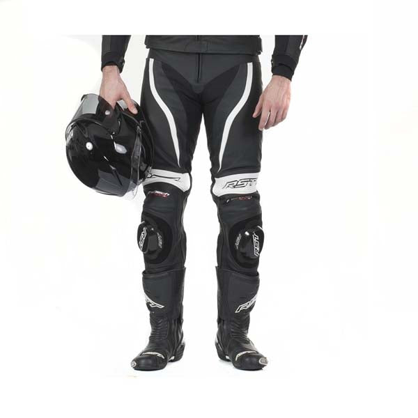 RST Tractech Evo-2 Leather Trousers White