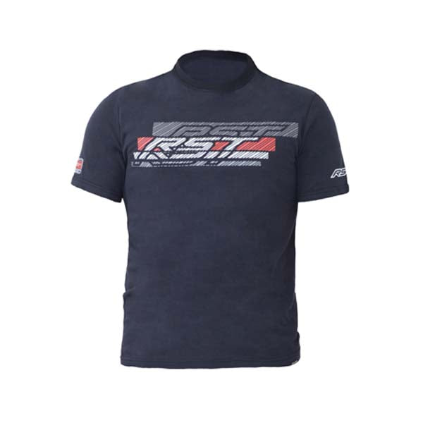 RST Casual Speed Lines II T-Shirt Black