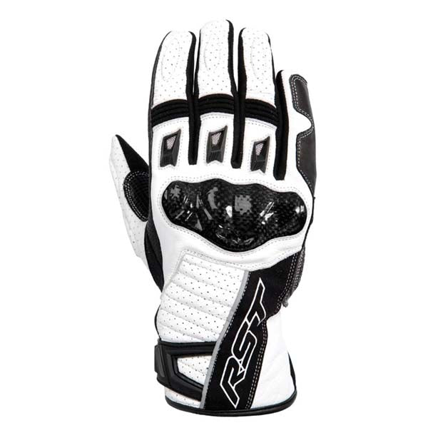 RST Stunt II CE Gloves White