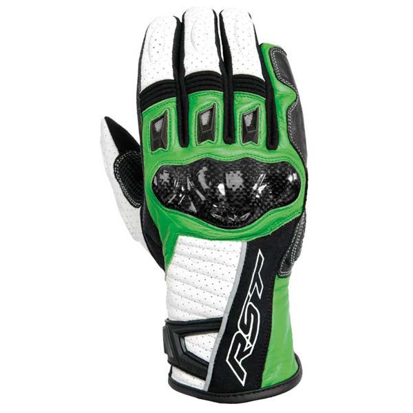 RST Stunt II CE Gloves Green
