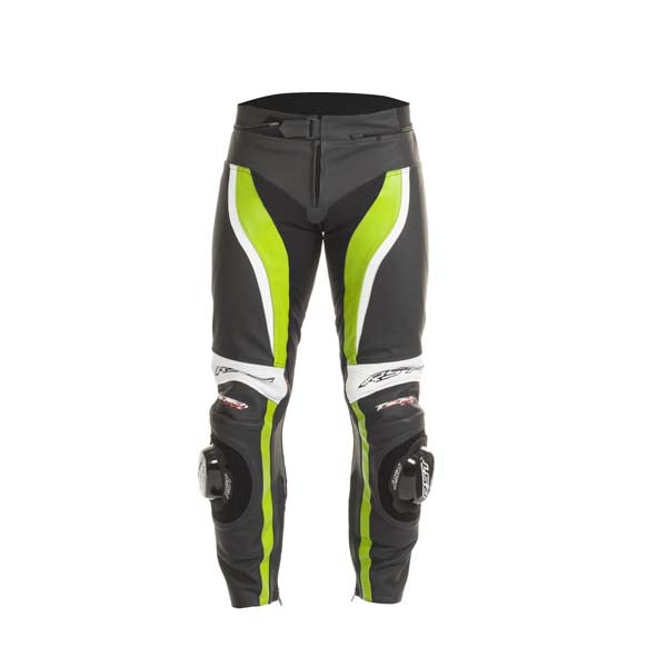 RST Tractech Evo-2 Leather Trousers Fluo Green