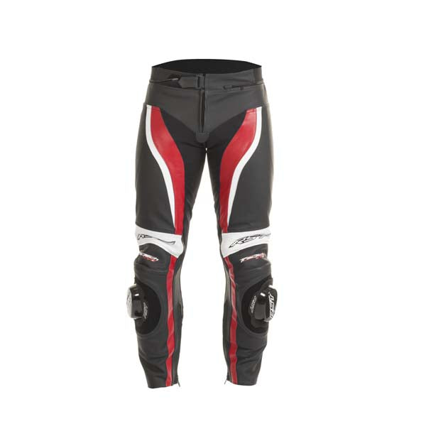 RST Tractech Evo-2 Leather Trousers Red
