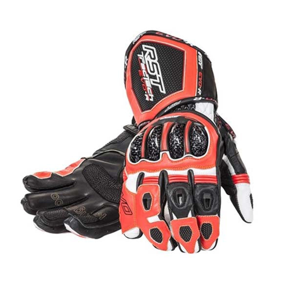 RST Tractech Evo Race Gloves Fluo Red