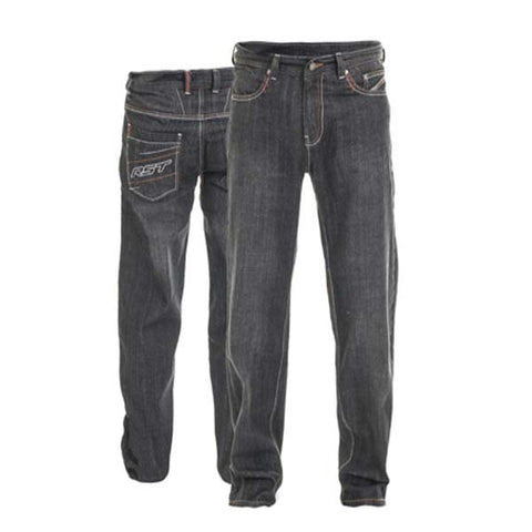 RST Aramid Wax II Jeans Black