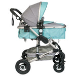 Little Bambino 3-in-1 Multifunctional Travel System- Grey and Blue