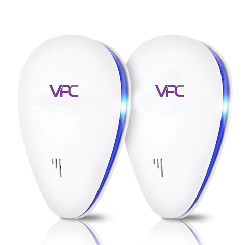 VPC 6 in 1 Ultrasonic Pest Repeller 2PK