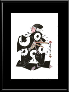 C-006 Kato Masakiyo Mounted or Framed Print