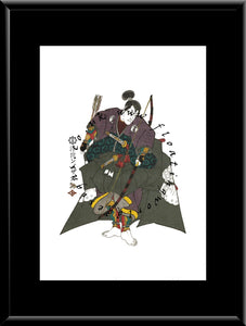 C-010 Abe Muneto  Mounted or Framed Print