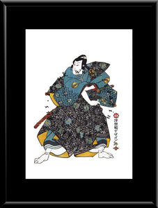 C-026 Samurai  Mounted or Framed Print