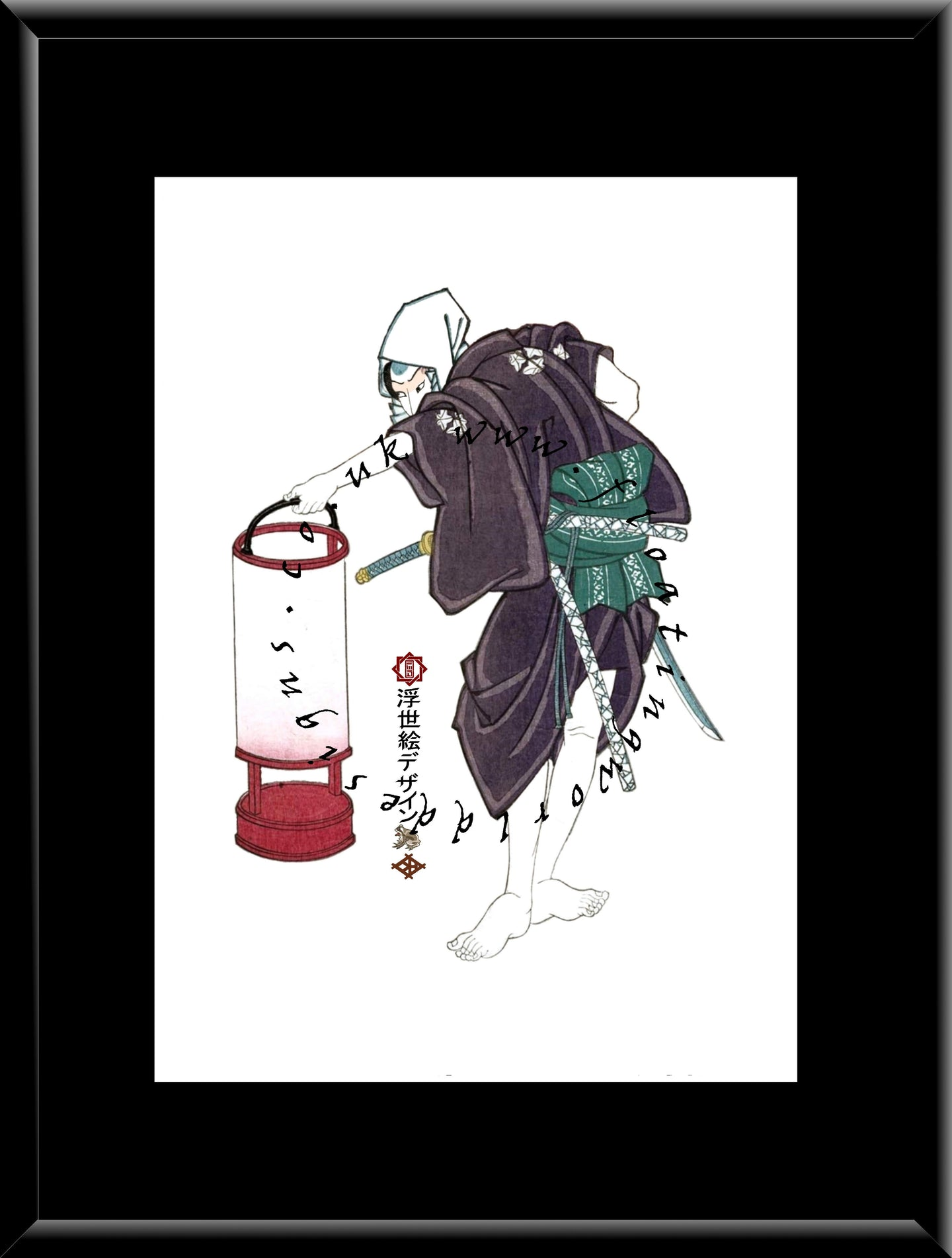 C-073 Teijo Kagami  Mounted or Framed Print