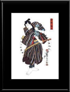 C-079 Samurai  Mounted or Framed Print