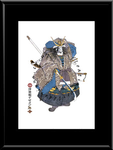 F-015 Taira Tomomori  Mounted or Framed Print