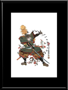 F-021 Hamaji Mitsukuni  Mounted or Framed Print
