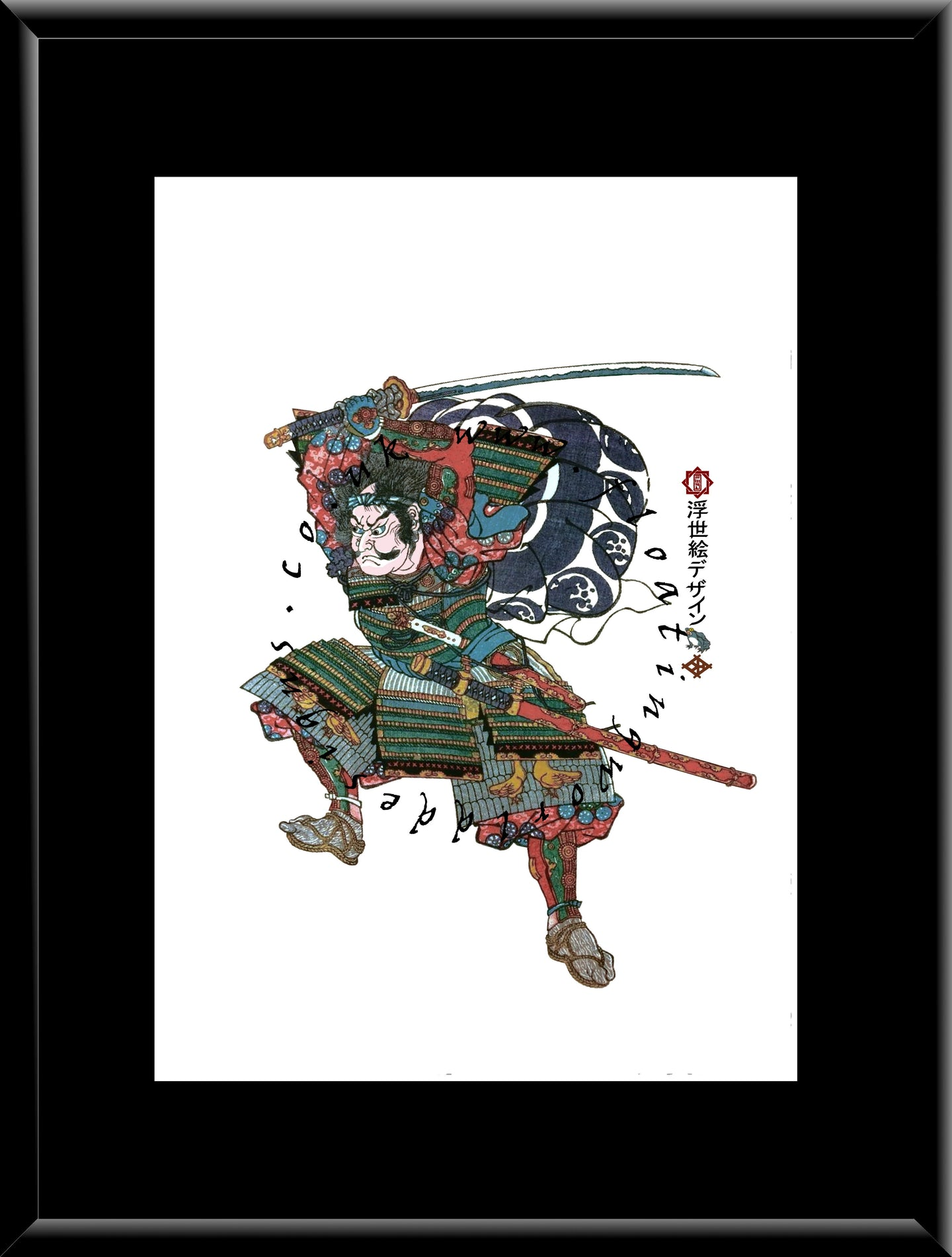 F-022 Kumagae Naozane Mounted or Framed Print