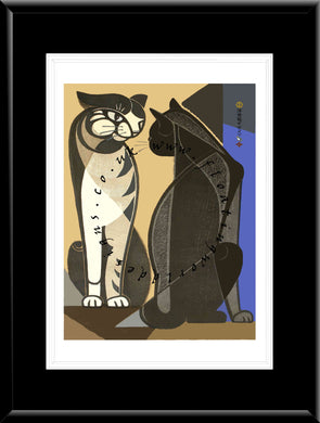 LE-013 Cat I Limited Edition Mounted or Framed Print