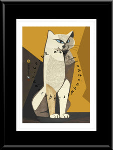 LE-014 Cat II Limited Edition Mounted or Framed Print