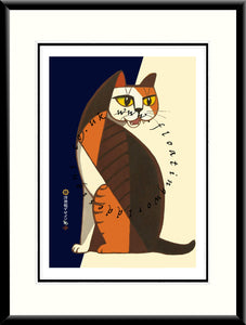 LE-017 Cat VI Limited Edition Mounted or Framed Print