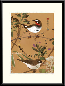 M-025 Two Birds   Mounted or Framed Print