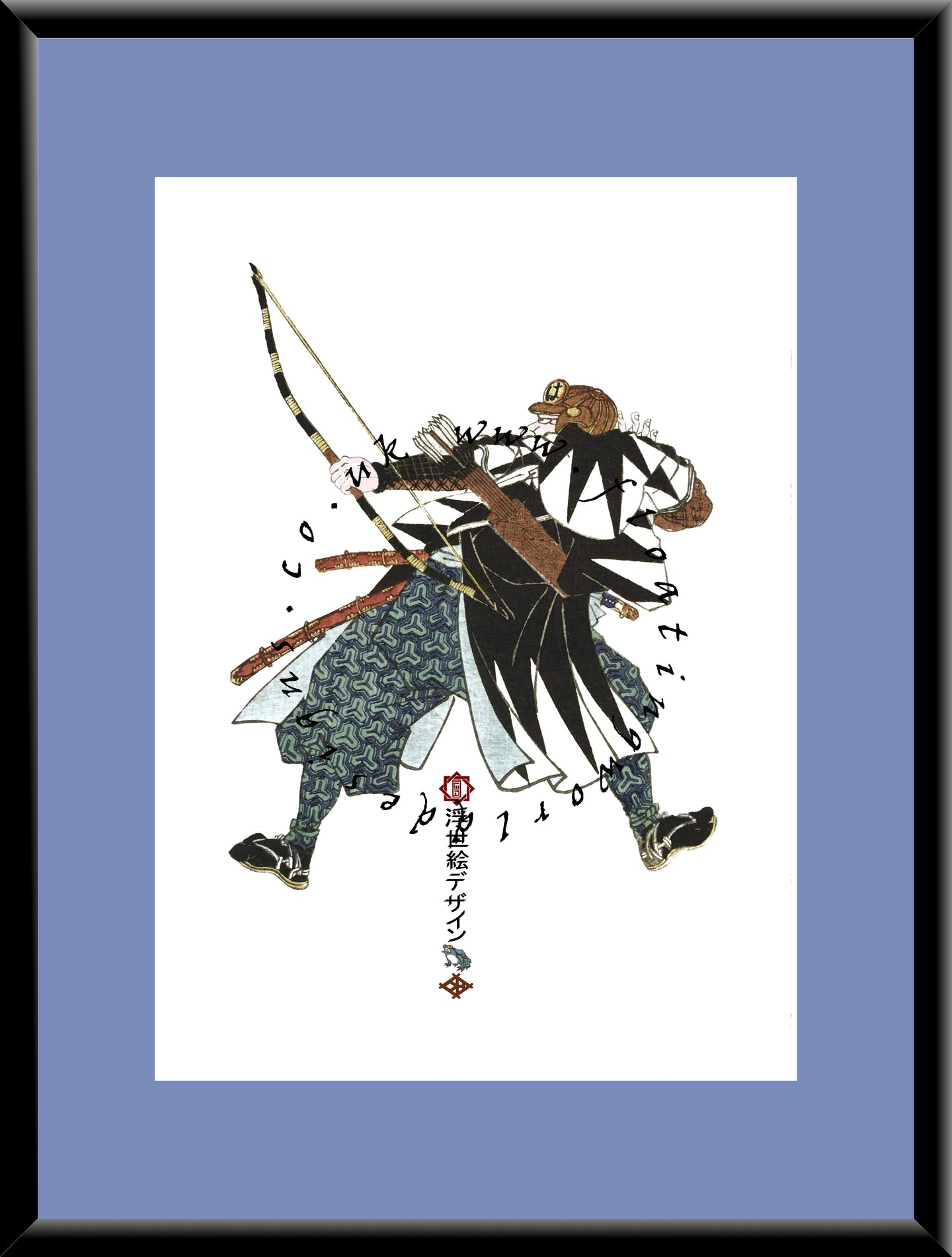 R-039 Okuda Magodayu  Mounted or Framed Print