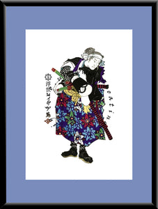 R-055 Takebayashi Sadashichi  Mounted or Framed Print