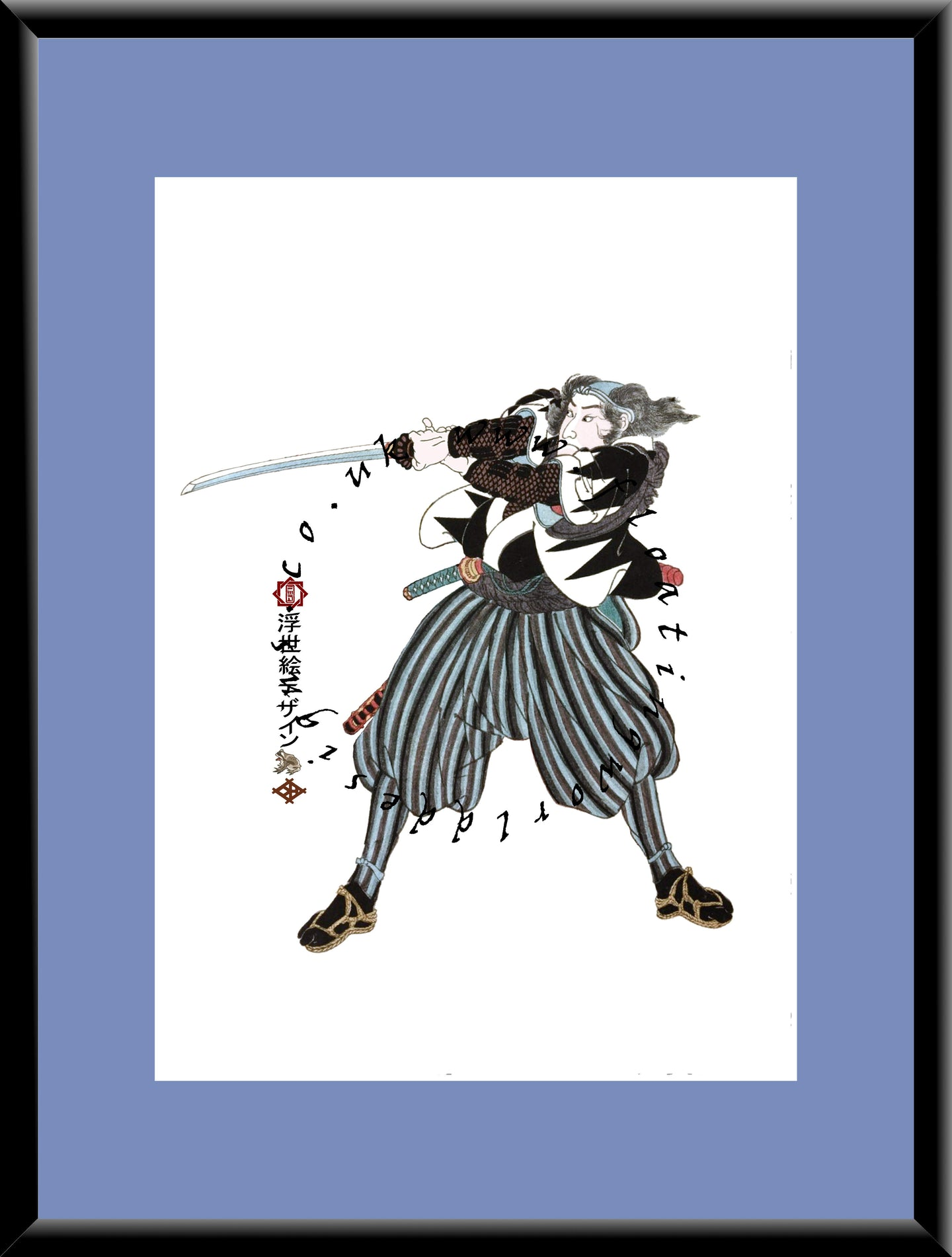 R-065 Ronin  Mounted or Framed Print