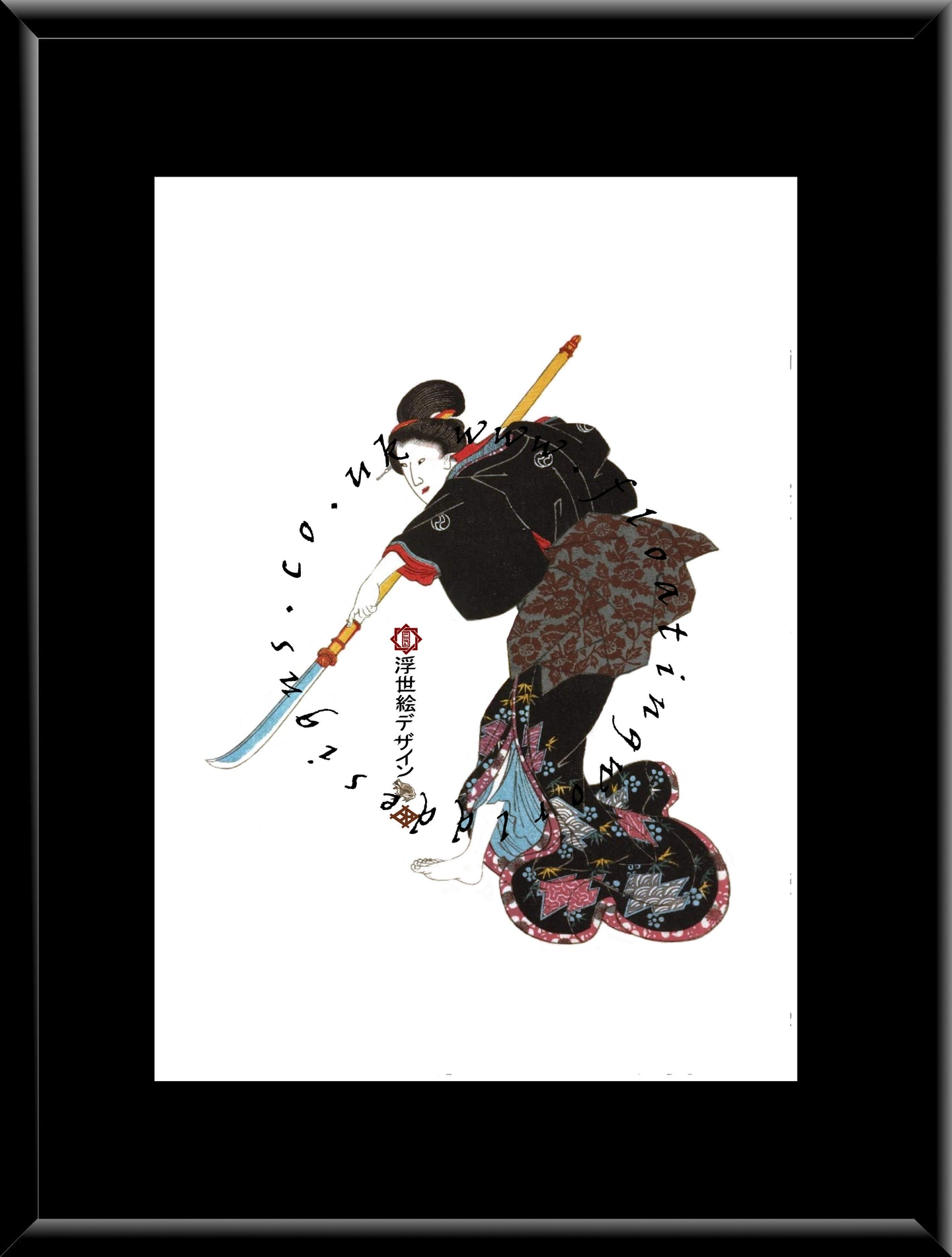 W-013 Ishijo  Mounted or Framed Print