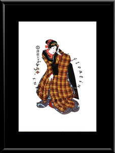 W-036 Woman Mounted or Framed Print