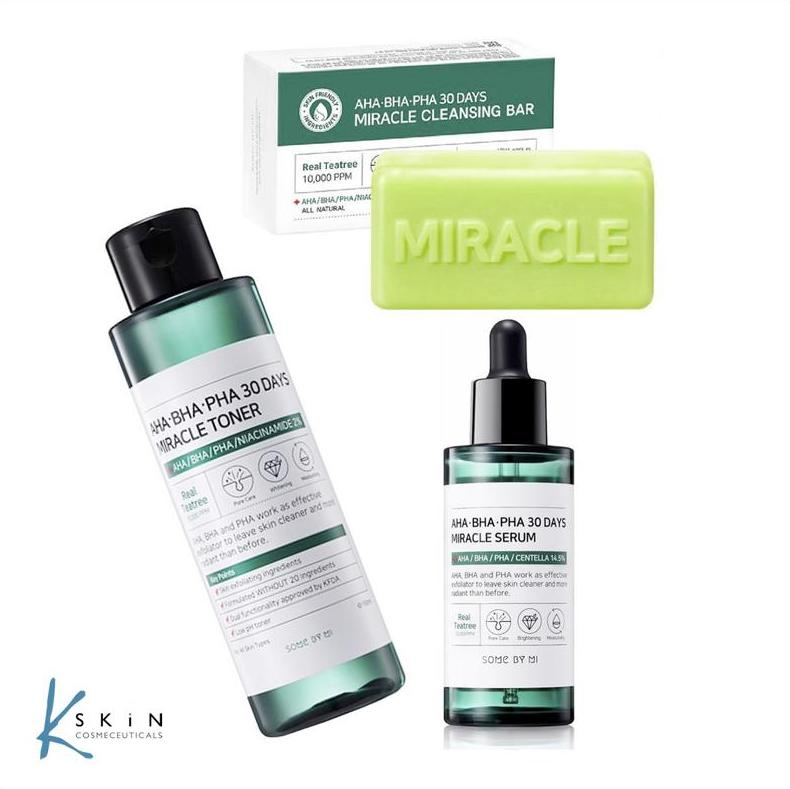 Troubled Skin? Try the 30 Day Miracle Range...