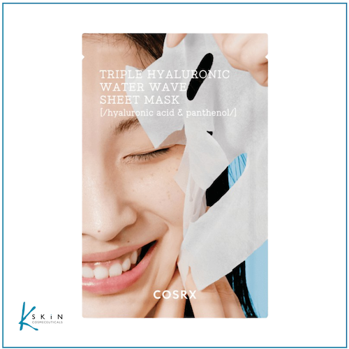 COSRX Hydrium Triple Hyaluronic Water Wave Sheet Mask - www.Kskin.ie