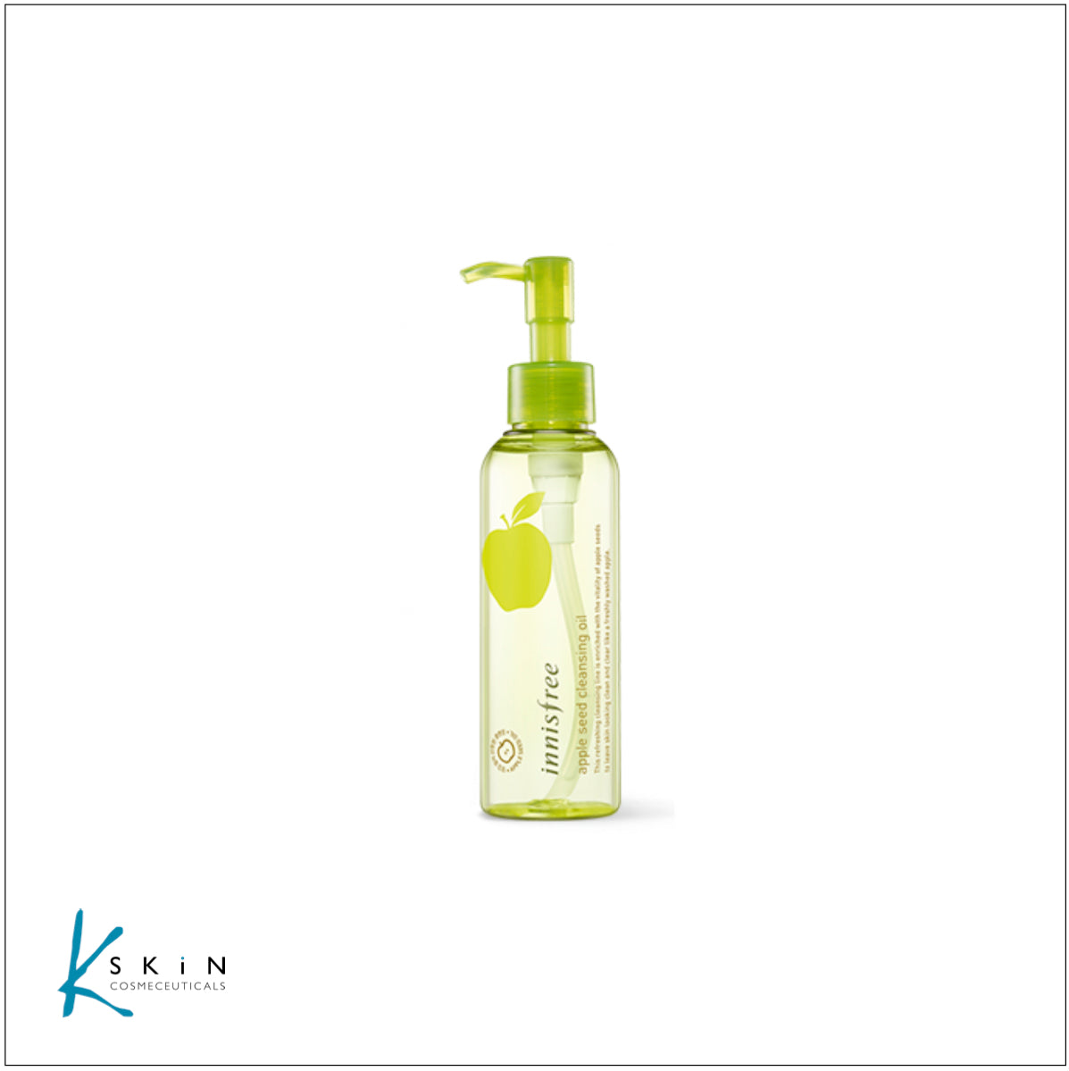 Innisfree Apple Seed Cleansing Oil 150ml - www.Kskin.ie