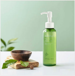Innisfree Green Tea Cleansing Oil 150ml - www.Kskin.ie