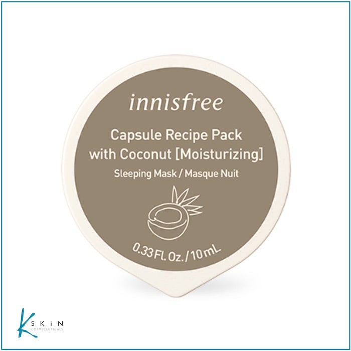 Innisfree Coconut (Sleeping) Mask - www.Kskin.ie