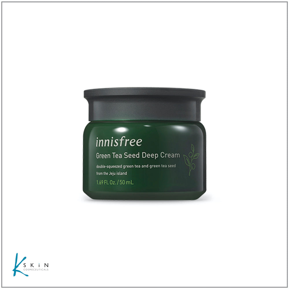Innisfree Green Tea Seed Deep Cream  50ml - www.Kskin.ie