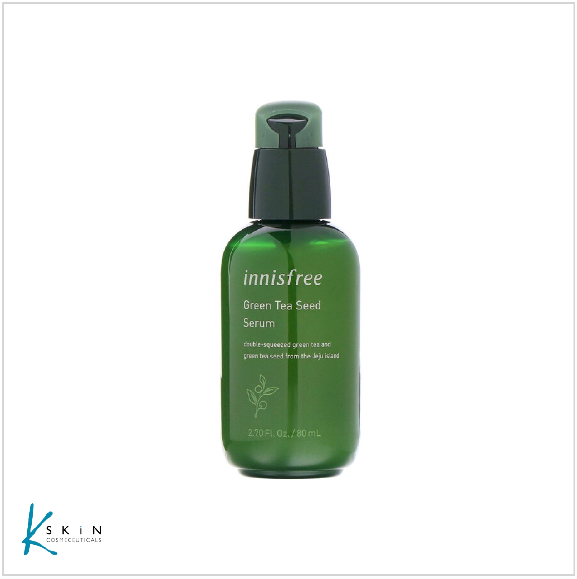 Innisfree Green Tea Seed Serum 80ml - www.Kskin.ie