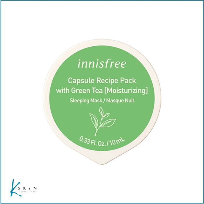 Innisfree Green Tea (Sleeping) Mask - www.Kskin.ie