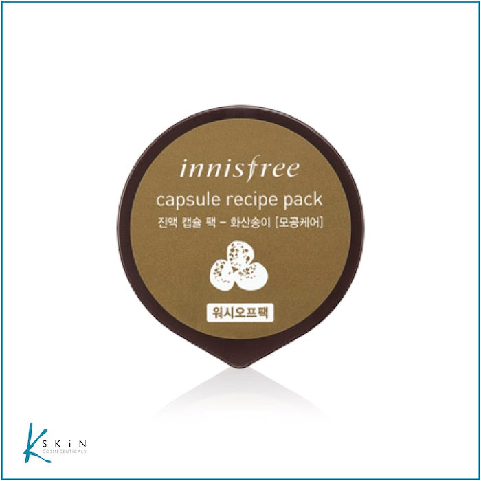 Innisfree Volcanic Clay (Wash off) Mask - www.Kskin.ie