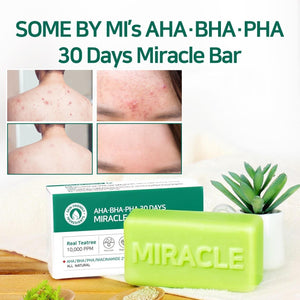 SOME BY MI 30 Days Miracle Cleansing Bar - www.Kskin.ie