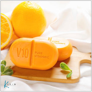 SOME BY MI V10 Pure Vitamin C Soap - www.Kskin.ie